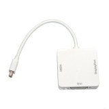 Переходник шт. mini DisplayPort - гн.HDMI-гн.DVI-гн.DisplayPort, , (),    []