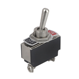 Тумблер MTS-203/ KN3(B)-101A ON-OFF, 250V, 10A, вкл.-выкл., 2 pin, 2 положения,  34x13mm D12mm, (), [China]